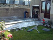 Driveways installation 2