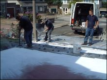Driveways installation 6